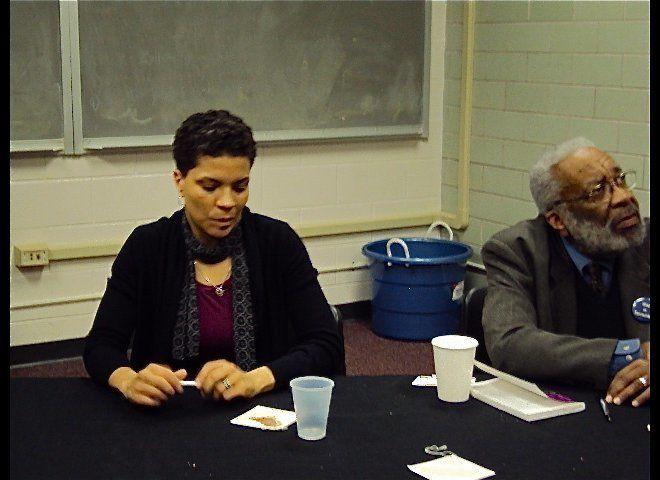 Michelle Alexander and Dr. Vincent Harding.