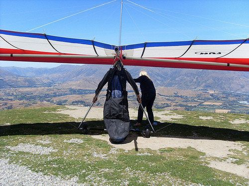 Telluride Air Force Hang Gliding And Paragliding Club Patrols The