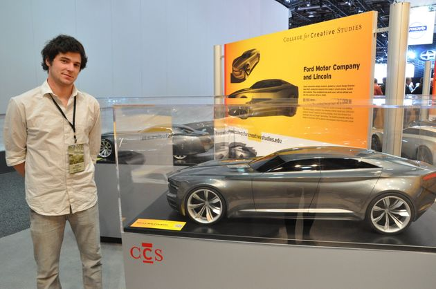 Detroit Auto Show Features Car Designs Of The Future From College For Creative Studies Students Huffpost