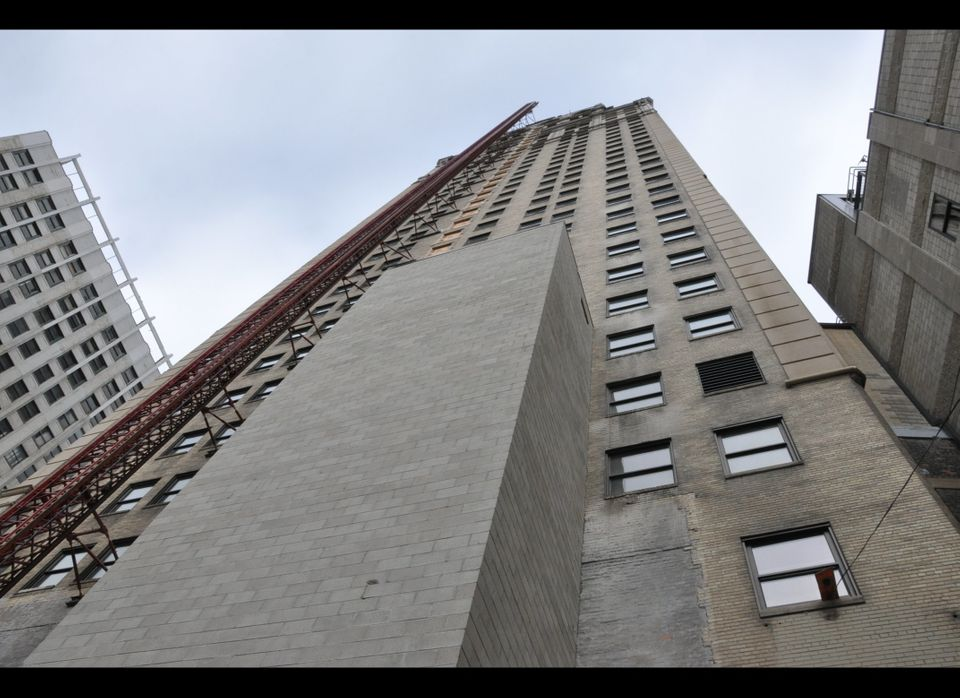 The Broderick Tower from below.