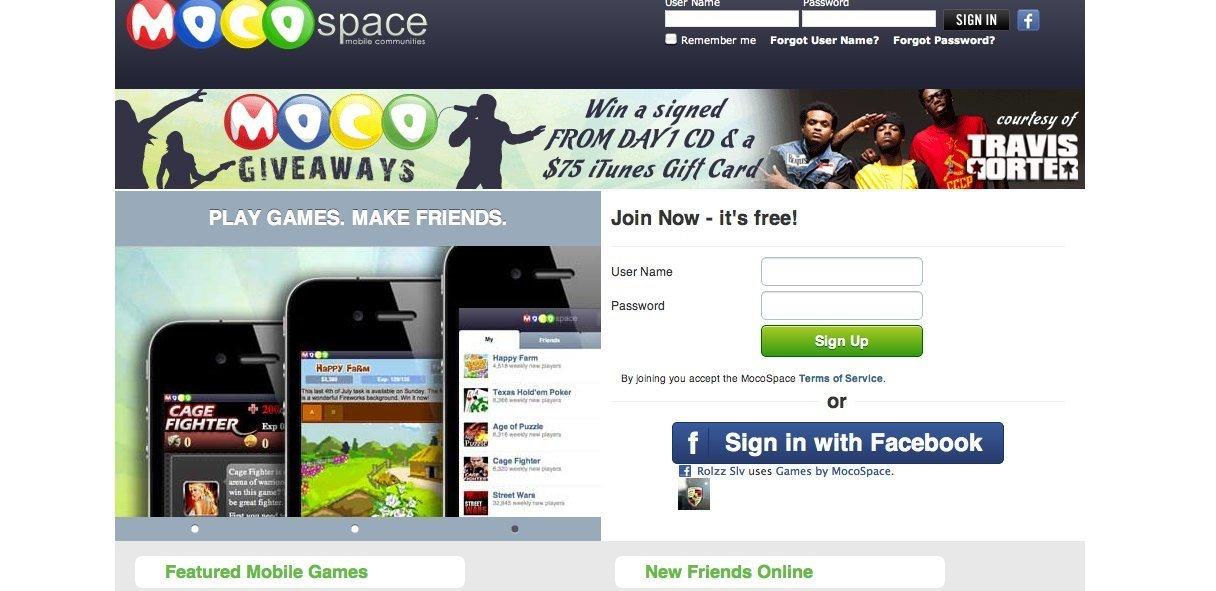 mocospace dating website