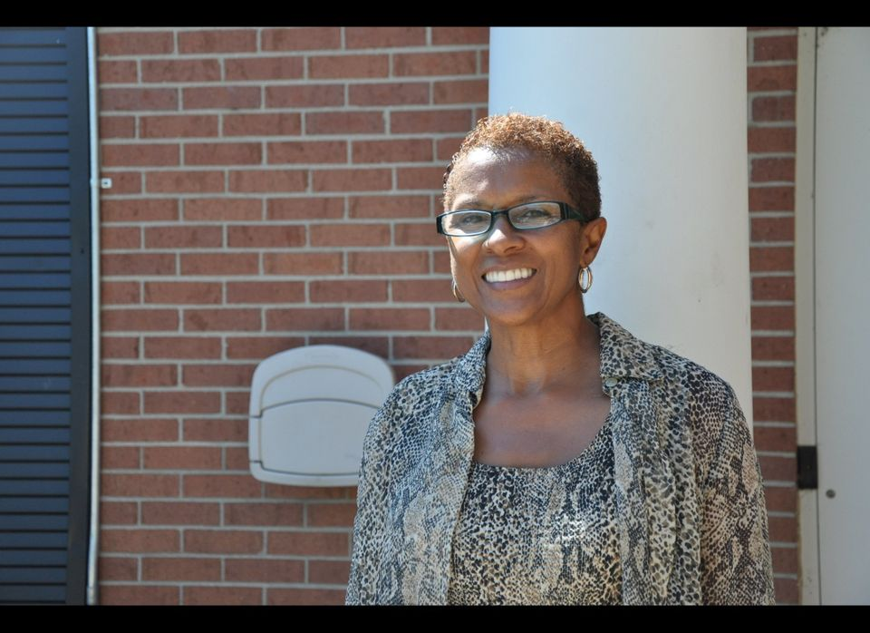 """""""I always vote because I know my ancestors died for the right,"""" said Debra Martin of Lathrup Village, Mich., who cast her bal"""
