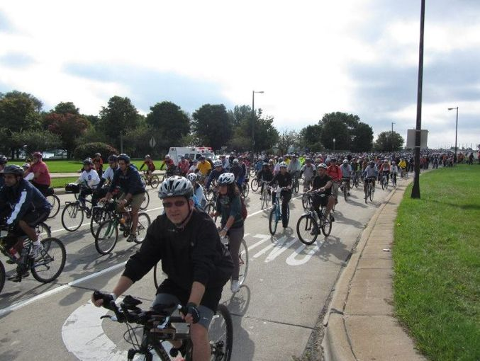 The event began 11 years ago with only 24 riders, but drew more than 4,000 participants last year. Organizers believe it coul