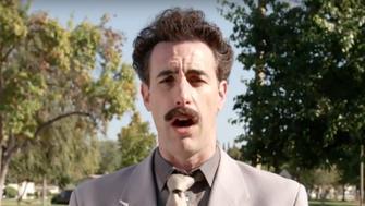 Borat on Jimmy Kimmel Live!