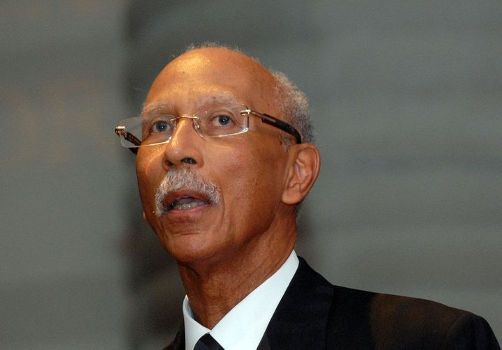 DETROIT, MI - MAY 17: Detroit Mayor Dave Bing attends the 2012 Ford Freedom Awards at the Charles H. Wright Museum of African