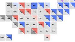 """Résultats midterms: poussée démocrate mais pas de """"vague"""" anti-Trump"""