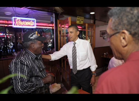 Obama Roscoes: POTUS Gets A Dish Named After Him At Roscoe's