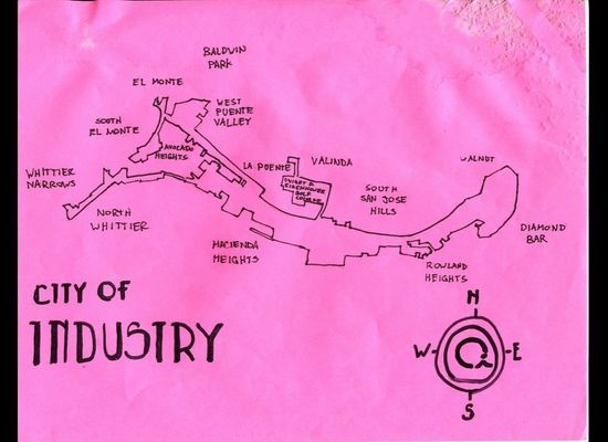 Map Of Los Angeles: Eric Brightwell Of Pendersleigh & Sons