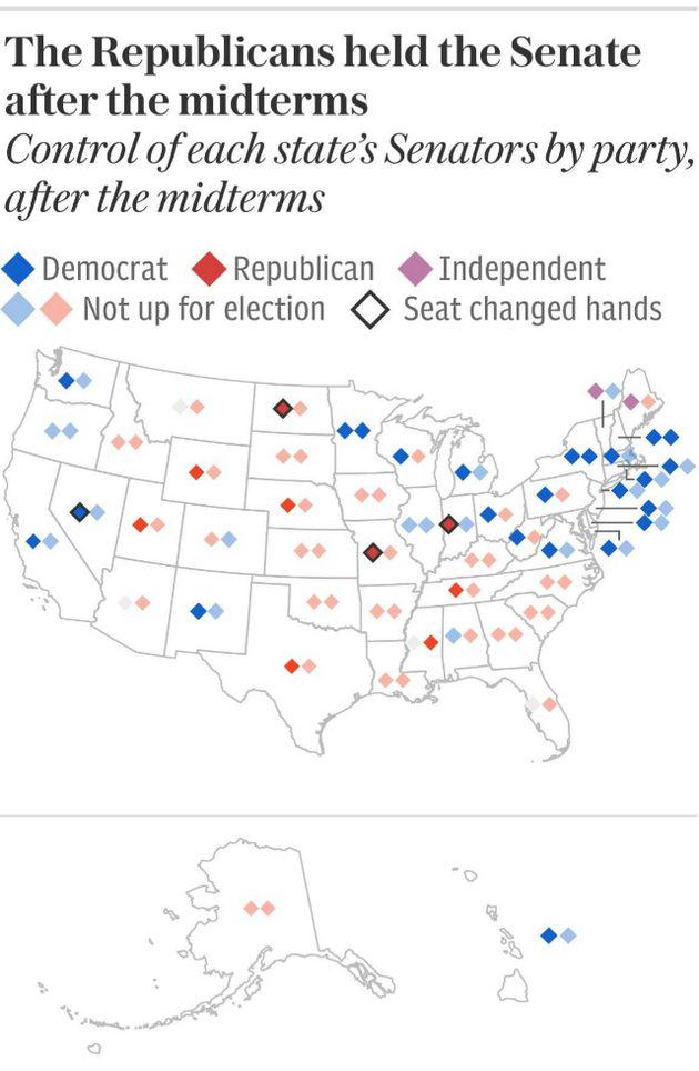 미국 중간선거 결과 간단
