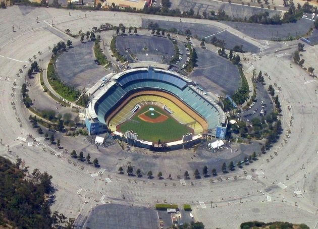 Dodgers Parking Lots: Frank McCourt Owns Half Of The Area ...