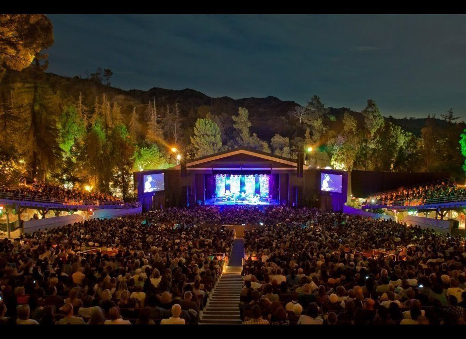 Hike above the Greek Theatre a little early to catch the tunes of Los Lobos, which will be playing at the Greek at 6pm. Then,