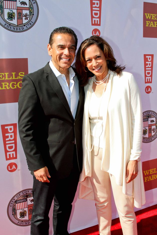Kamala Harris At La S Lgbt Garden Party Attorney General Is The Star Of The Show Huffpost