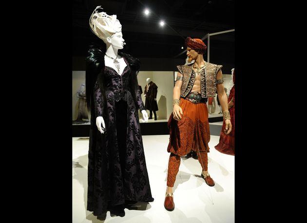 Art Of Television Costume Design Exhibit Fidm Displays Tv Costumes Photos Huffpost