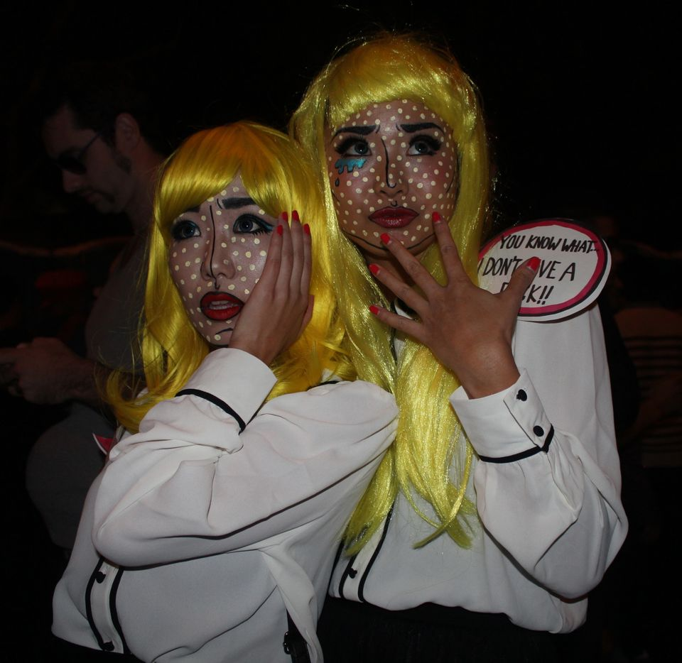 west hollywood halloween 2012: carnaval attracts binders full of