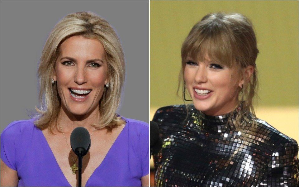 Laura Ingraham and Taylor Swift