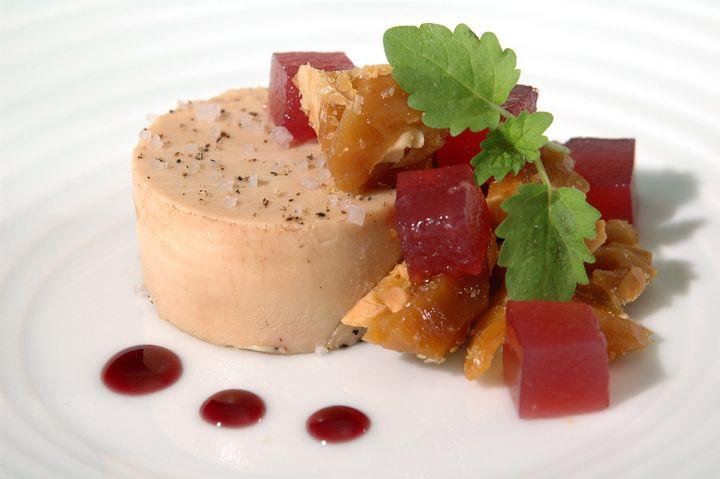 foie gras with beet gelee 2