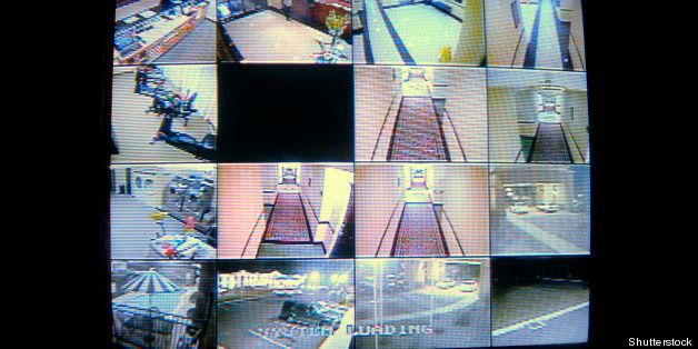a real cctv security system...