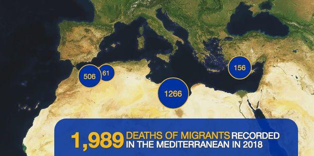 Plus de 100.000 migrants ont rejoint clandestinement les côtes européennes en