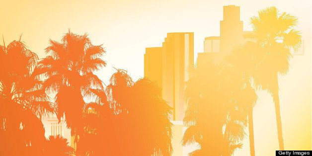 Los Angeles - Vector Illustration
