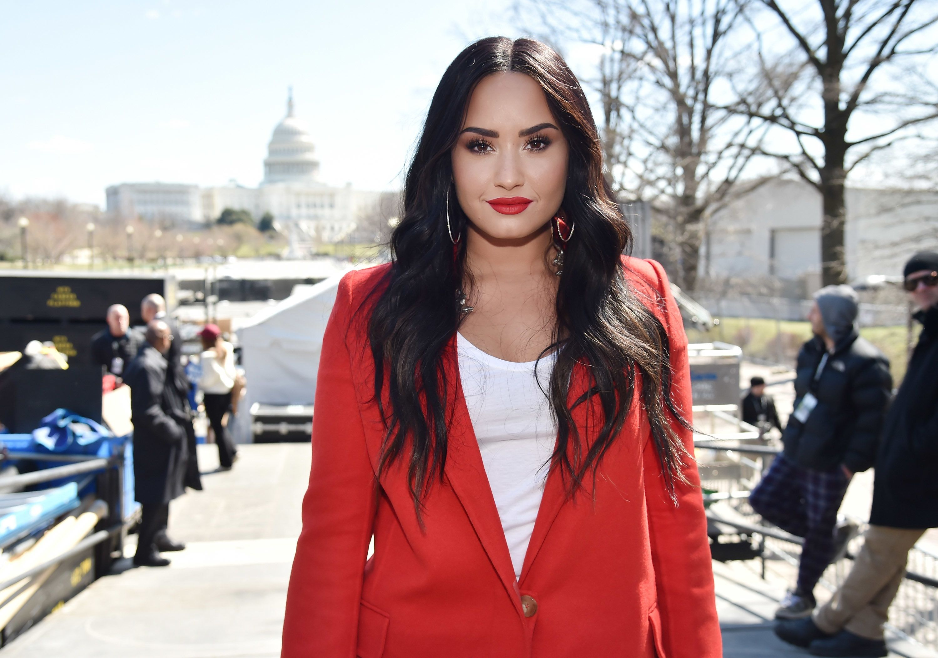 Demi Lovato Gets Political In First Instagram Post Since