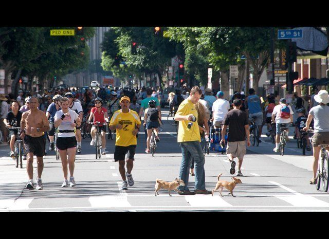 """This Sunday, June 23 from 9:00 AM-4:00 PM, join <a href=""""http://www.ciclavia.org"""" target=""""_hplink"""">CicLAvia</a> participants"""