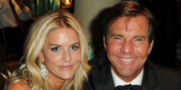 (EXCLUSIVE, Premium Rates Apply) (EXCLUSIVE COVERAGE) Actor Dennis Quaid (R) and wfie Kimberly Quaid attends HBO's 68th Annua