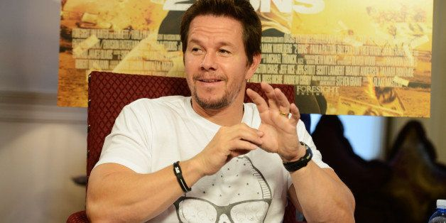 LONDON, ENGLAND - AUGUST 05:  (UK TABLOID NEWSPAPERS OUT) Mark Wahlberg attends a photocall for 2Guns at The Mandarin Orienta