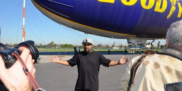 Ice Cube And Goodyear Blimp Bring Lyrics To Life For A Good