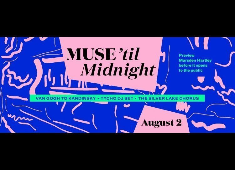 """This Saturday, August 2, dance the night away at <a href=""""http://www.lacma.org/event/muse-til-midnight-2"""" target=""""_hplink"""">LA"""