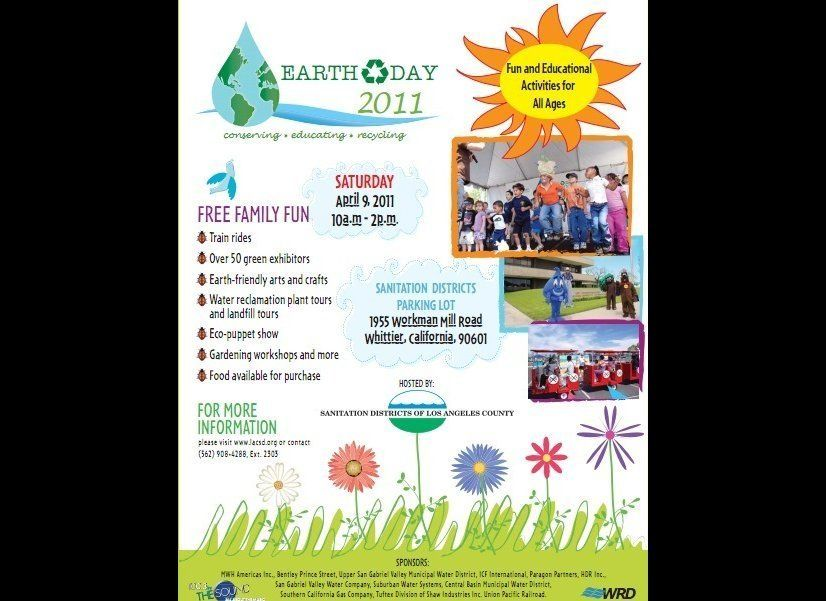 Bring the kids to an all-day Earth Day celebration with train rides, puppets, arts and crafts, and gardening workshops. But t
