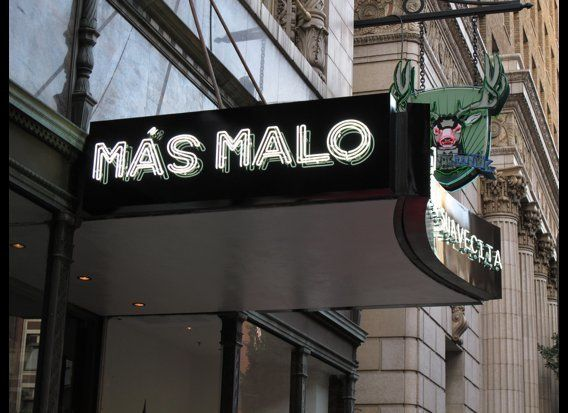 Mas Malo is on West 7th Street in the middle of Downtown LA's Jewelry District