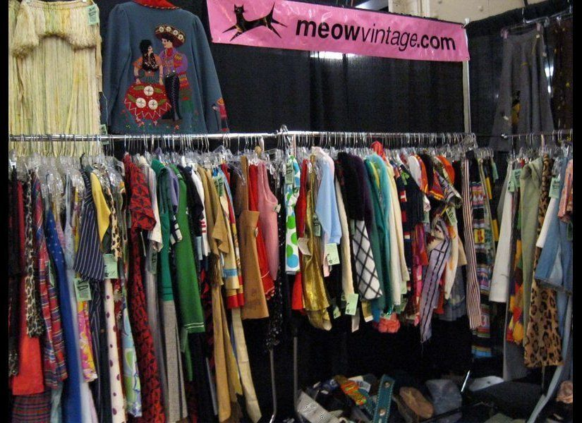 This Long Beach thrift store carries mostly unworn items from the 1940s to 1980s. <em>Photo courtesy of Meow Vintage</em>