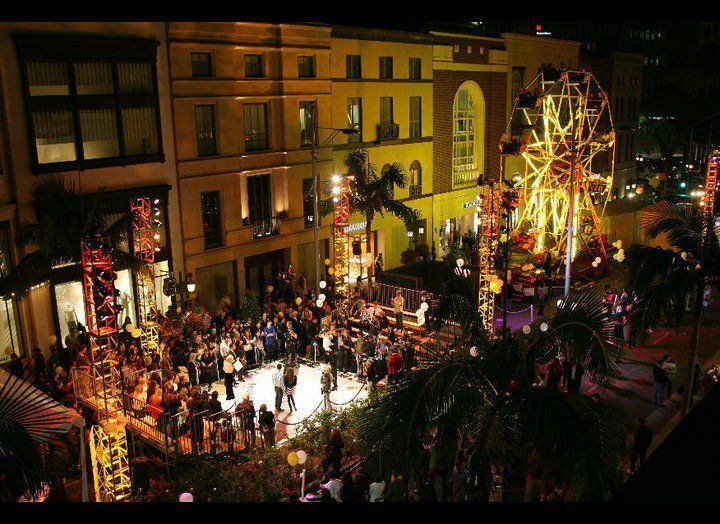 Forget buyer's remorse. You'll get a shopper's high on the 60-foot Ferris wheel on Rodeo Drive during Fashion's Night Out. Th