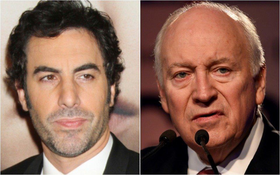 Sacha Baron Cohen and Dick Cheney