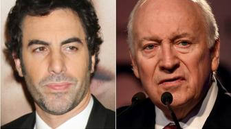 Sacha Baron Cohen and Dick Cheney
