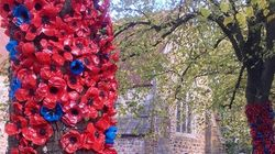 These 1,687 Remembrance Poppies Were Made From Old Plastic