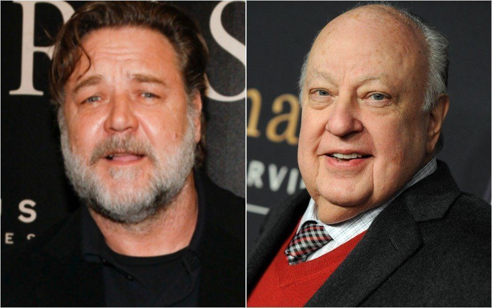 Russell Crowe and Roger Ailes