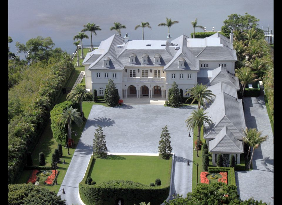As Palm Beach's most expensive home on the market, the gated property built in 2011 boasts nine bedrooms, 17 bathrooms, multi