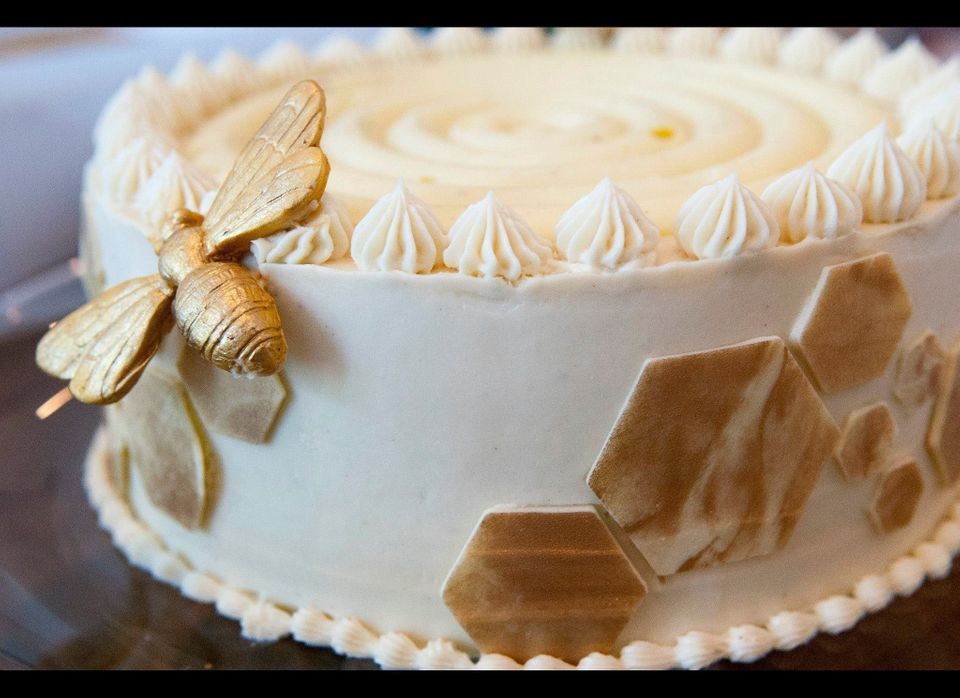 Hummingbird cake at Lee & Marie's.