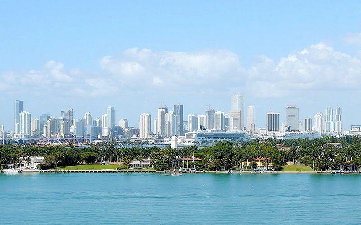 Description 1 View of the Miami Skyline | Source Wikimedia Commons | Author Marc Averette | Date 2008-03-28 | Permission | ot