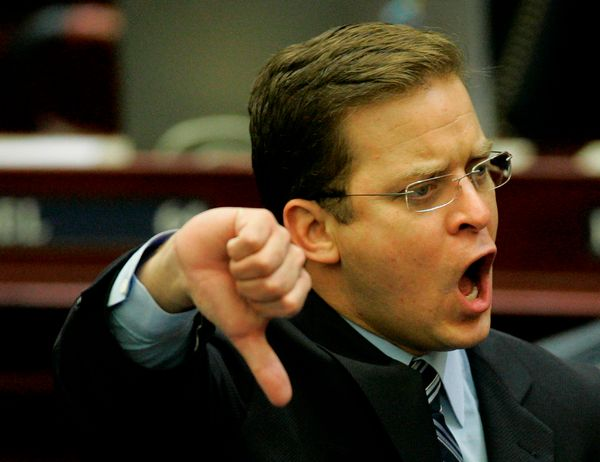 State Rep. Carlos Lopez-Cantera (R-Miami) championed HB 1355, earning a rebuke from Florida's senior congressman Sen. Bill Ne