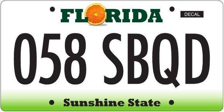 Florida's New License Plates: State Asks Drivers To Vote On Designs
