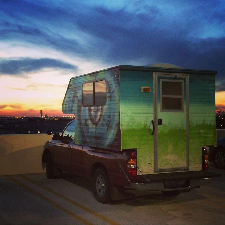 Sarah van Gelder traveled 12,000 miles across America in this truck to visit communities where powerful change is happening.