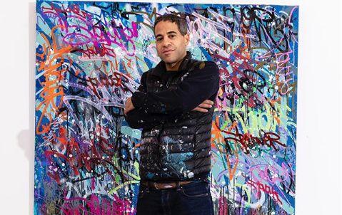 Rabat: L'artiste new-yorkais JonOne débarque à la BNRM et au