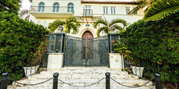Miami, USA - July 31, 2013: Versace mansion. In 1997 the world gasped as Gianni Versace was shot to death on the doorstep of