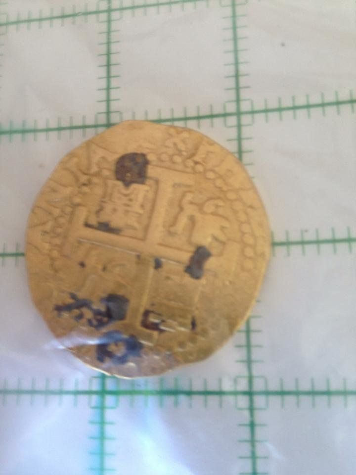 """Family Finds Hidden Treasure (Courtesy <a href=""""https://www.facebook.com/BootySalvage"""">Booty Salvage</a>)"""