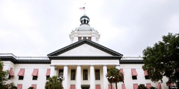 Florida state capitol building in Tallahassee in spring - (state capitol series)