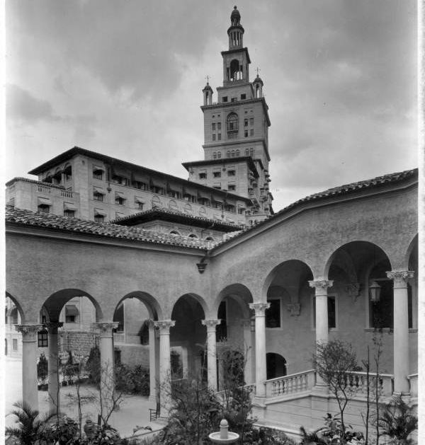 The Biltmore Hotel was built in 1926 and served as a hot spot for Coral Gables visitors. During World War II, it was converte