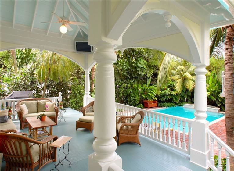 City: Key West Year Built: 1891 Bedrooms: 6 Baths: 6 Size: 5,500 square feet Note: This 123-year-old mansion was built for pr