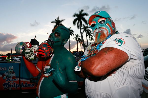 Truth: these guys dress this way every game. (Photo by Chris Trotman/Getty Images)